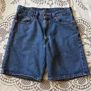 📌Levi's 550 Relaxed Fit Denim Shorts